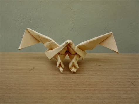 how to make a paper eagle easy tutorials