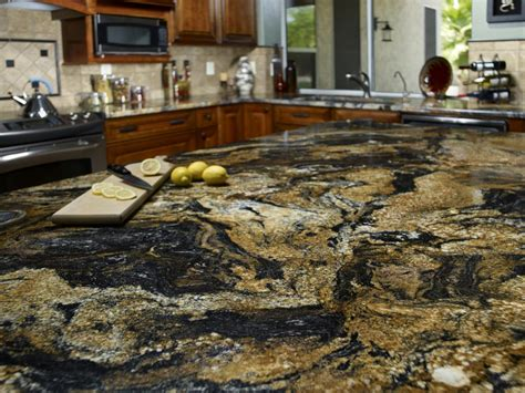 stone counter granite kitchen countertop hgtv