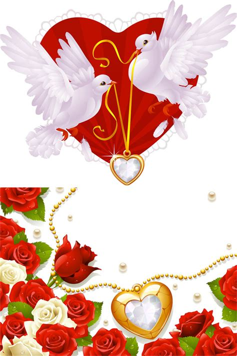 Wedding Background Clipart by Flowers Vector Graphics Page 7