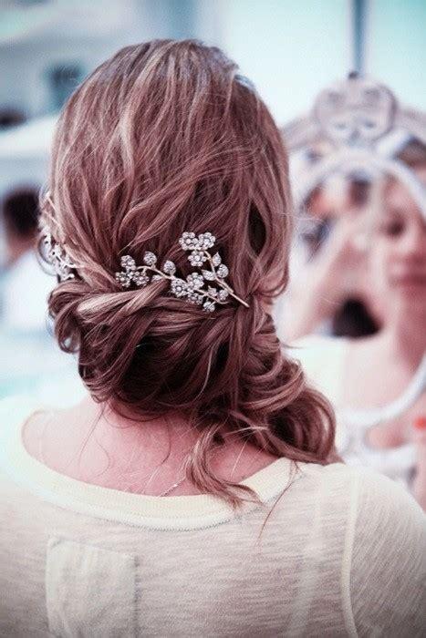 weddings fresh wedding style expert loving side swept hair