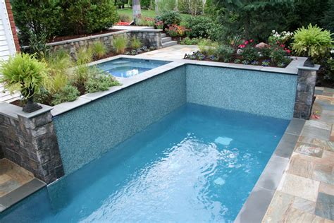 garden swimming pool custom dream homes stony wall complete landscape design outdoor living by new jersey