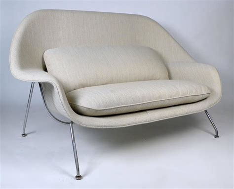 womb sofa womb sofa eero saarinen womb settee for knoll at 1stdibs