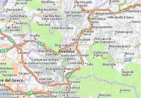d italia avellino mappa avellino cartina avellino viamichelin