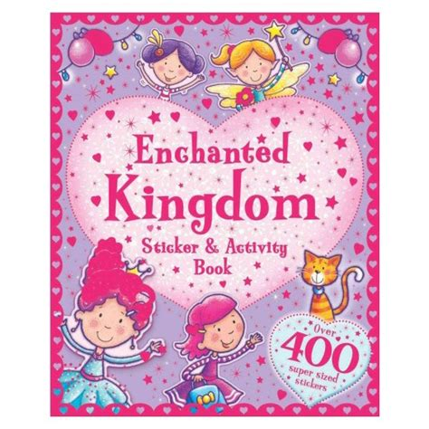 maps activity book paperback target enchanted kingdom sticker activity book paperback target