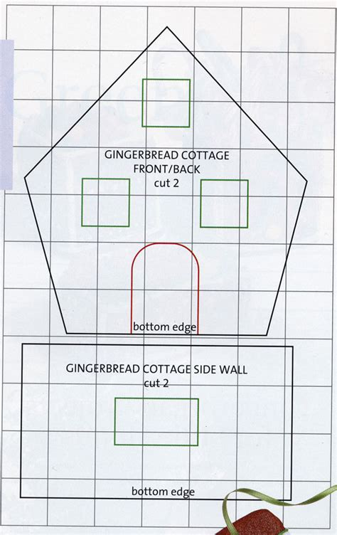 printable gingerbread house template www imgkid com