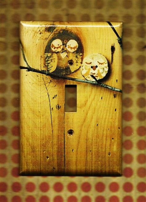 cute light switch covers save the owls switchplate cover the natural light
