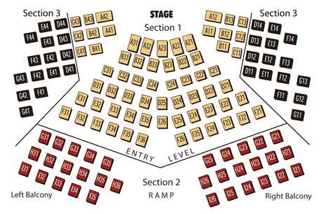 un seating chart la comedia dinner theatre production chronology