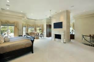 fireplace master bedroom home