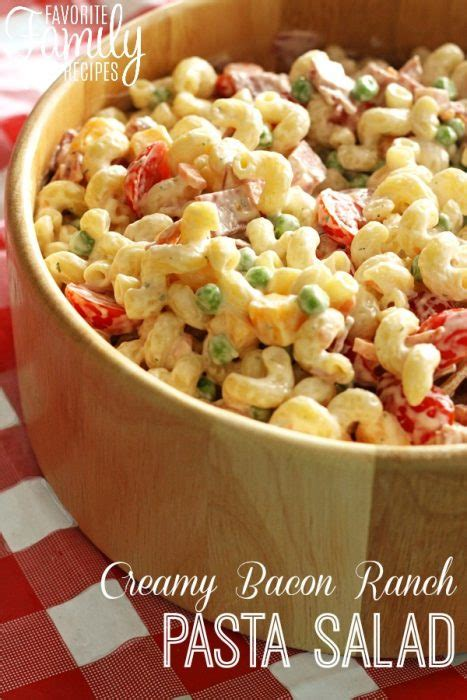 creamy ranch pasta salad family fresh meals 25 father s day recipes swanky recipes