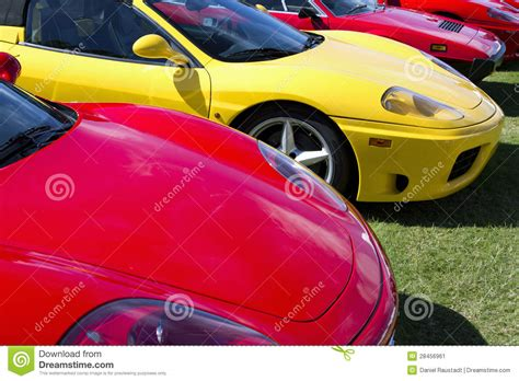 luxury sports exotic foreign european luxury sports cars royalty free