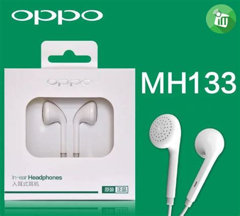 Headset Oppo Original Earphone In Ear oppo earphone in ear mh133 imediastores