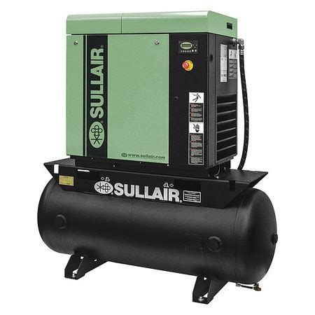 Chion Rotorch Rotary Air Compressor by Sullair Rotary Air Compressor 15 0 Hp 02250177 610 Zoro