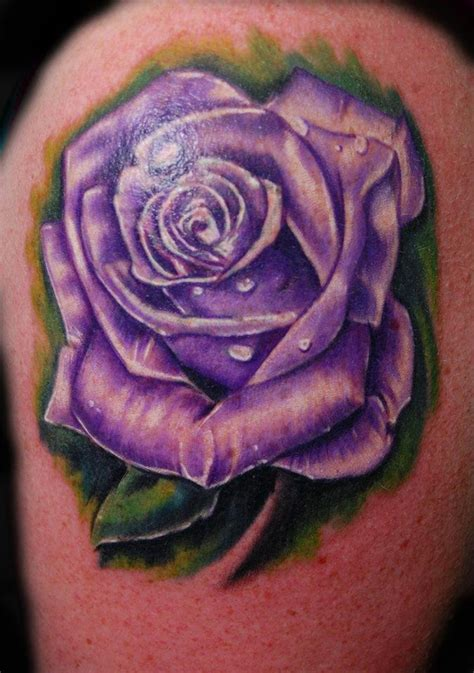 purple rose tattoos 10 white sles and design ideas