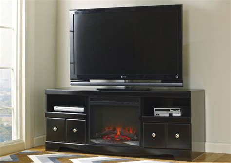 Led Tv Fireplace by Jarons Shay Large Tv Stand W Led Fireplace