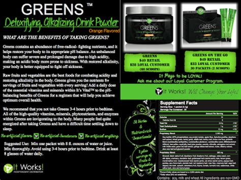 It Works 90 Day Greens Detox by It Works Pam Wraps Pamwraps Juice Cleanse It