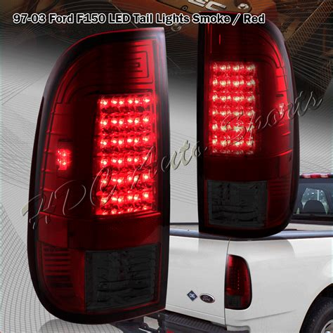 1999 ford f150 tail lights for 1999 2007 ford f250 super duty styleside red smoke