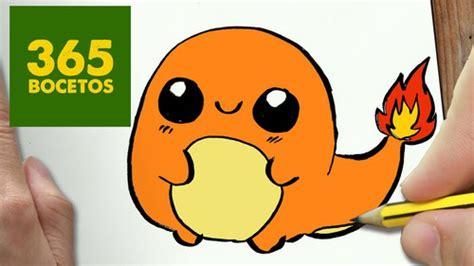 imagenes de animales kawaii 365bocetos charmander from pokemon kawaii drawing on we heart it