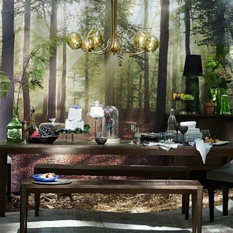 Enchanted Forest Wall Mural 43 enchanting forest wall murals for deep and dreamy home