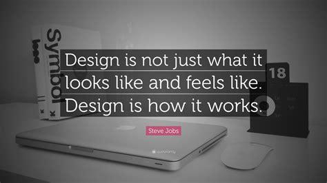 steve jobs quote design