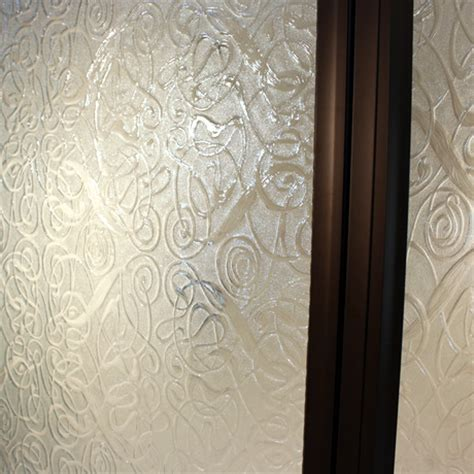 Patterned Glass Shower Doors Cardinal Shower Enclosures Complete Correct On Time Every Time