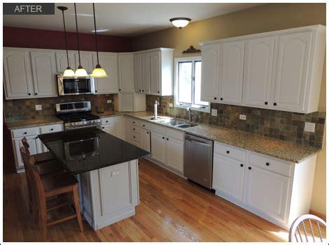kitchen cabinets illinois oak kitchen cabinet painting cary il