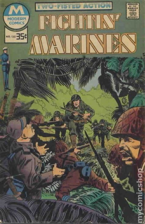modern golf classic reprint books fightin marines 1980 modern reprint comic books