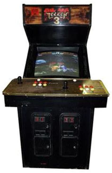 Tekken 3 Arcade Cabinet by Tekken 3 Videogame By Namco