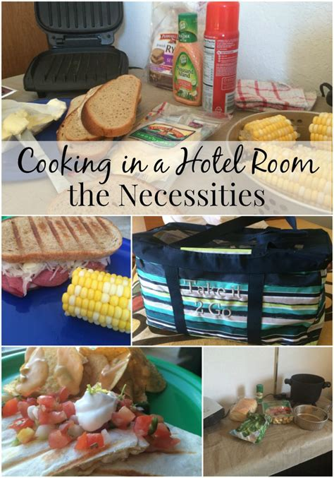 cooking in hotel room necessities for cooking in a hotel room a to z packing tips