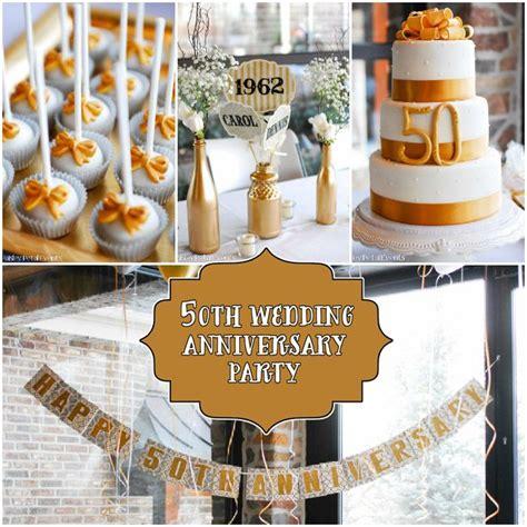 themes anniversary party 50th wedding anniversary party ideas paisley petal