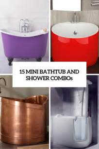 bathtub for small space 15 mini bathtub and shower combos for small bathrooms