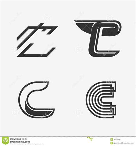 letter pattern logo the set of letter h sign logo icon design template