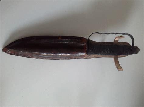 Handmade Leather Knife Sheath - custom leather knife sheath