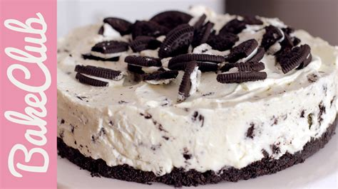 oreo no bake cake bakeclub youtube