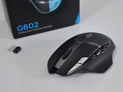 Mouse Logitech G602 logitech g602 wireless gaming mouse review