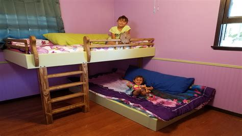 how to build bunk beds diy bunk beds youtube