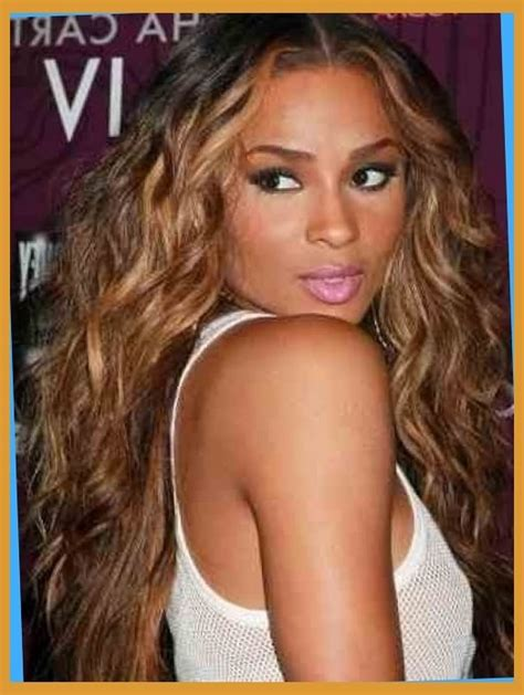 picture of highlights in african american women hair honey blonde hair color on black women hair