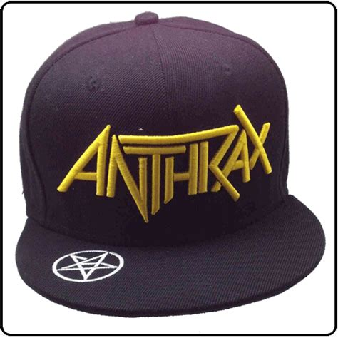 Snapback Slayer anthrax official anthrax merchandise officially