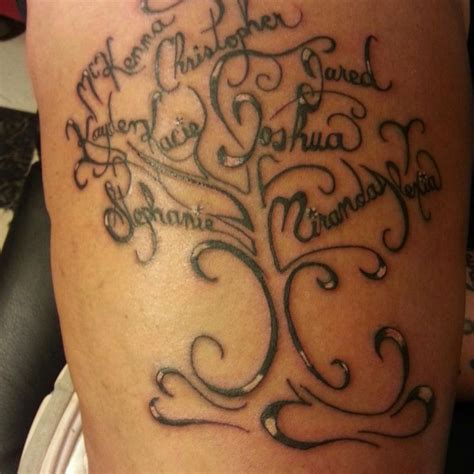 family tattoos designs girl family tattoos design ideas for and
