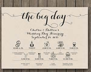 wedding day itinerary for bridal template printable wedding day itinerary card wedding bridal
