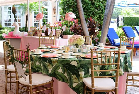 Baby Shower Venues West Palm beth s flamingo inspired baby shower palm lately