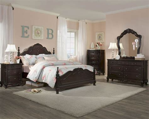 homelegance cinderella bedroom set homelegance bedroom set cinderella in cherry el 1386ncset