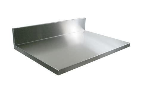 Commercial Kitchen Backsplash John Boos Stainless Steel Counter Tops Backsplashes
