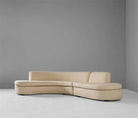 Large Curved Sofa For Sale At 1stdibs Large Curved Sofa