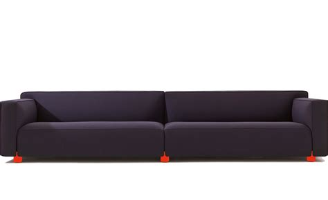 love seat and ottoman barber osgerby four seat sofa hivemodern com