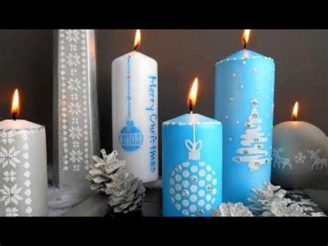 diy decoration de noel bougies youtube