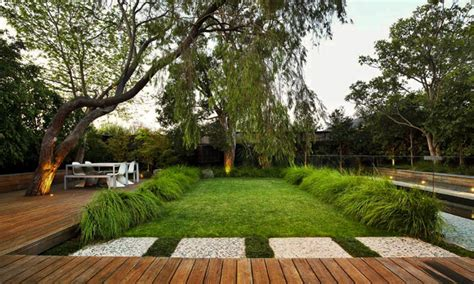 modern backyard design contemporary garden design by eckersley garden