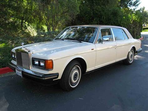 rolls royce 80s 1988 rolls royce silver spur for sale classiccars com