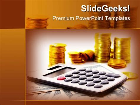 Financial Business Powerpoint Template 0610 Powerpoint Templates Financial Presentation