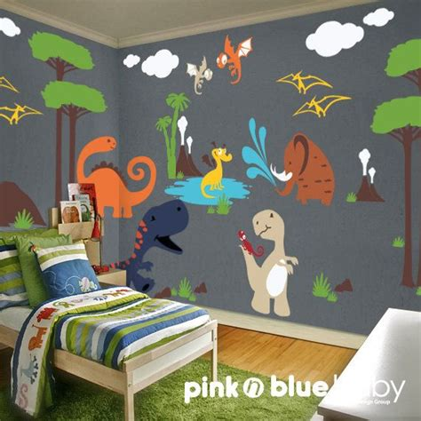 Dinosaur Room by Wall Decal Dinosaur Nursery Wall Decal Nursery