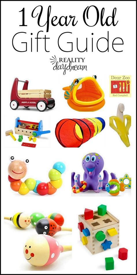 lots of ideas for gifts for one year olds